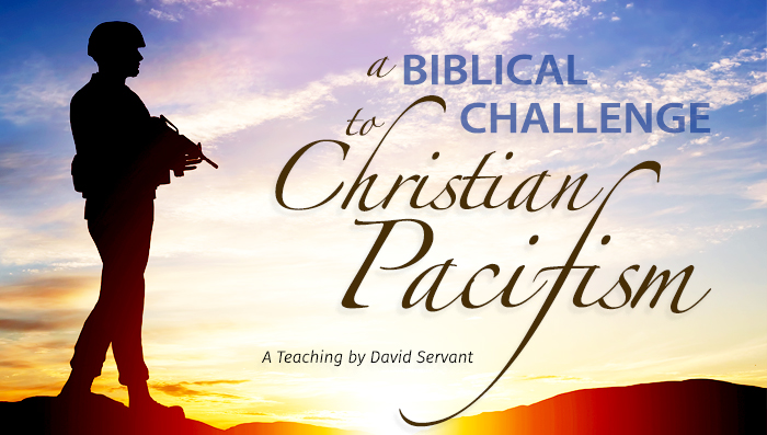 Christian Pacifism E-Teaching Graphic