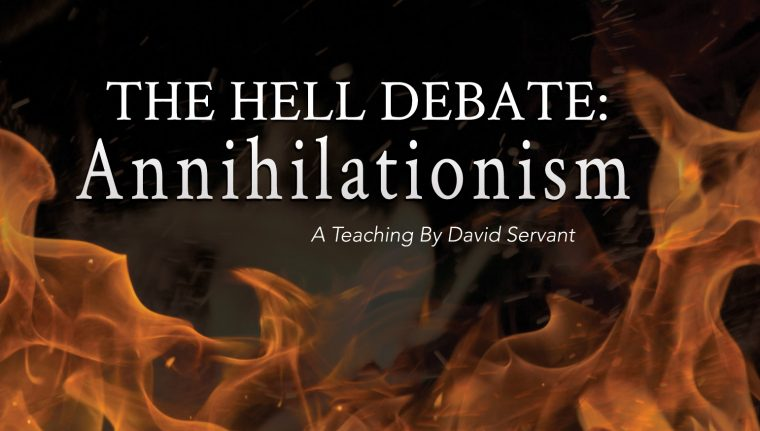Picture of flames and post title - The Hell Debate: Annihilationism