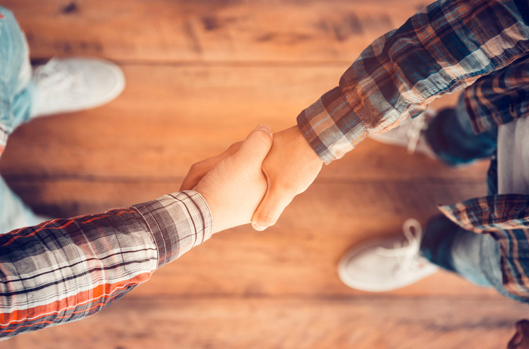 Shaking hands - Do you have to forgive those who don't ask for your forgiveness?