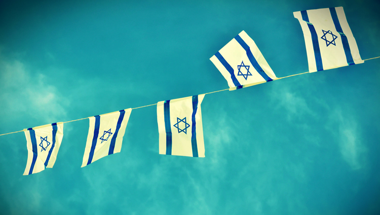 Israeli flags - Is modern-day Israel the apple of God's eye?