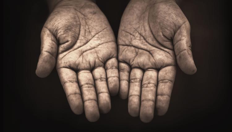 Open hands - Are you a spiritual beggar?
