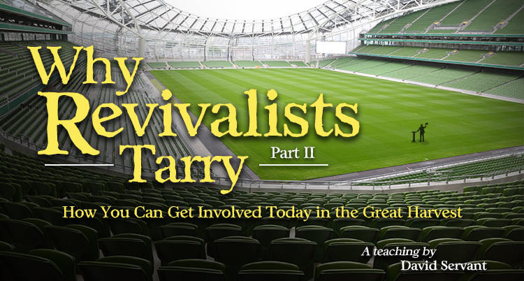 "Picture of E-Teaching graphic with title ""Why Revivalists Tarry"""