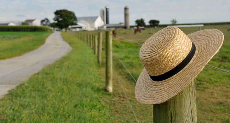 Picture of Amish hat