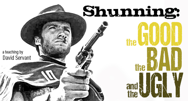 "Article Title, ""Shunning: the Good, the Bad, and the Ugly"""