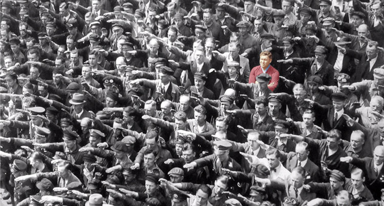 Picture of nonconformist in Nazi Germany