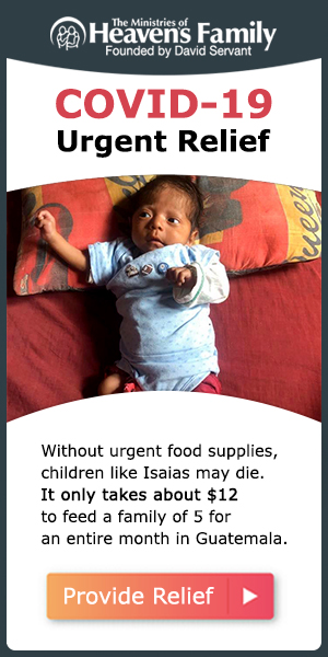 Without urgent food supplies, children like Isaias may die. It only takes about $12 to feed a family of 5 for an entire month in Guatemala. Click to provide relief.