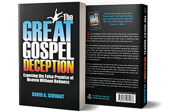Picture of David's book, the Great Gospel Deception