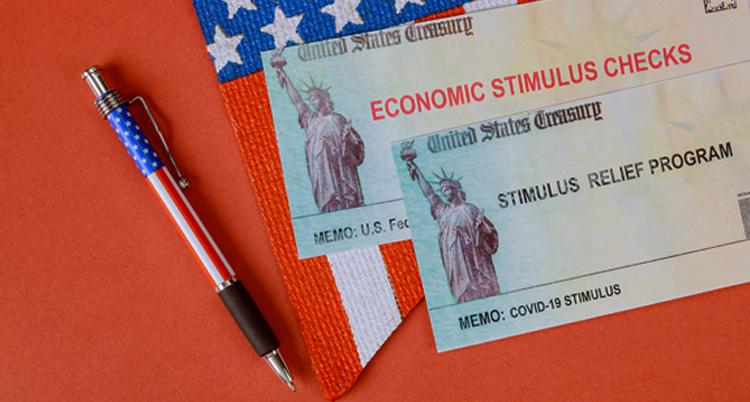 Picture of economic stimulus check relief program