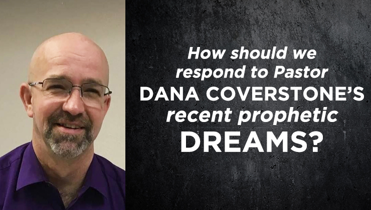 Pastor Dana Coverstone talking about his recent prophetic dreams
