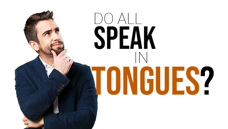 thinking about speaking in tongues