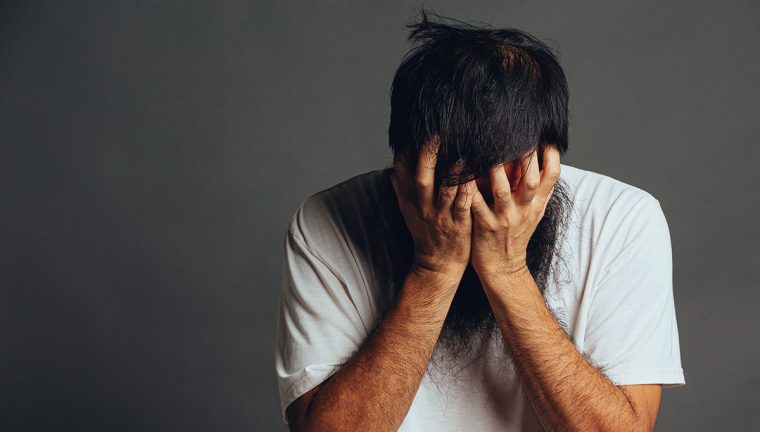 picture of a person experiencing anxiety
