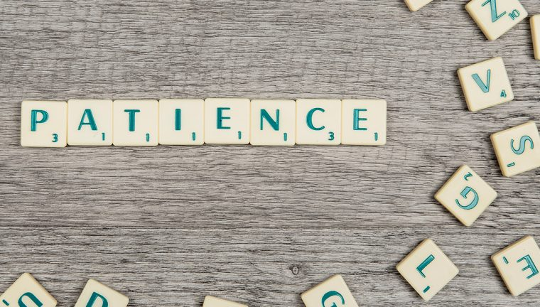 picture of patience spelled out