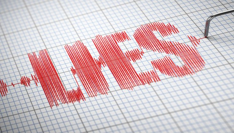 Picture of the word Lies